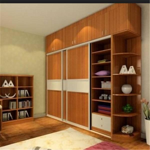 bedroom wall wardrobe design