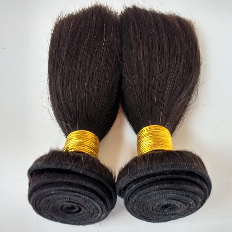 Afro hair Black Short hair Remy hair100g 100%Human hair Hair extensions