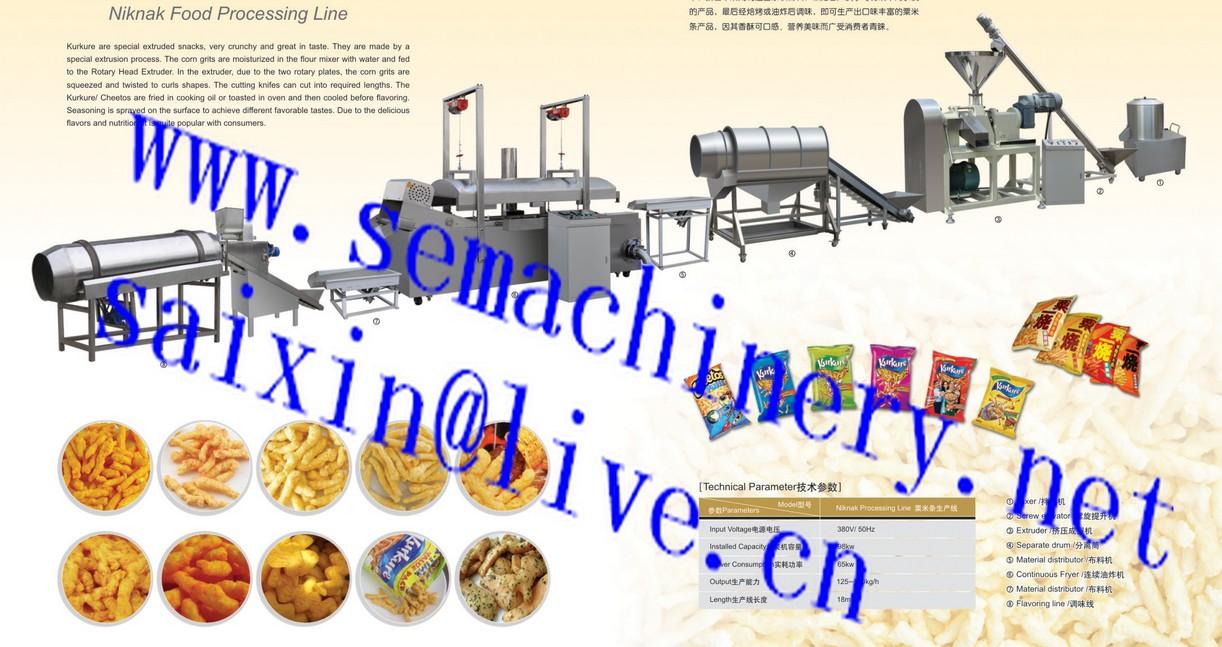 cheetos kurkure processing line