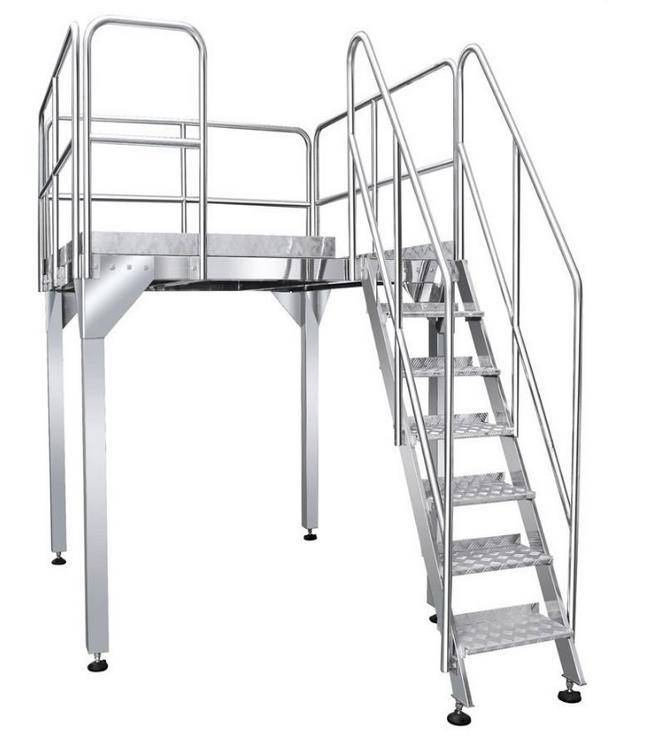 Working Platform for multihead weigher automatic weighing and packaging machine