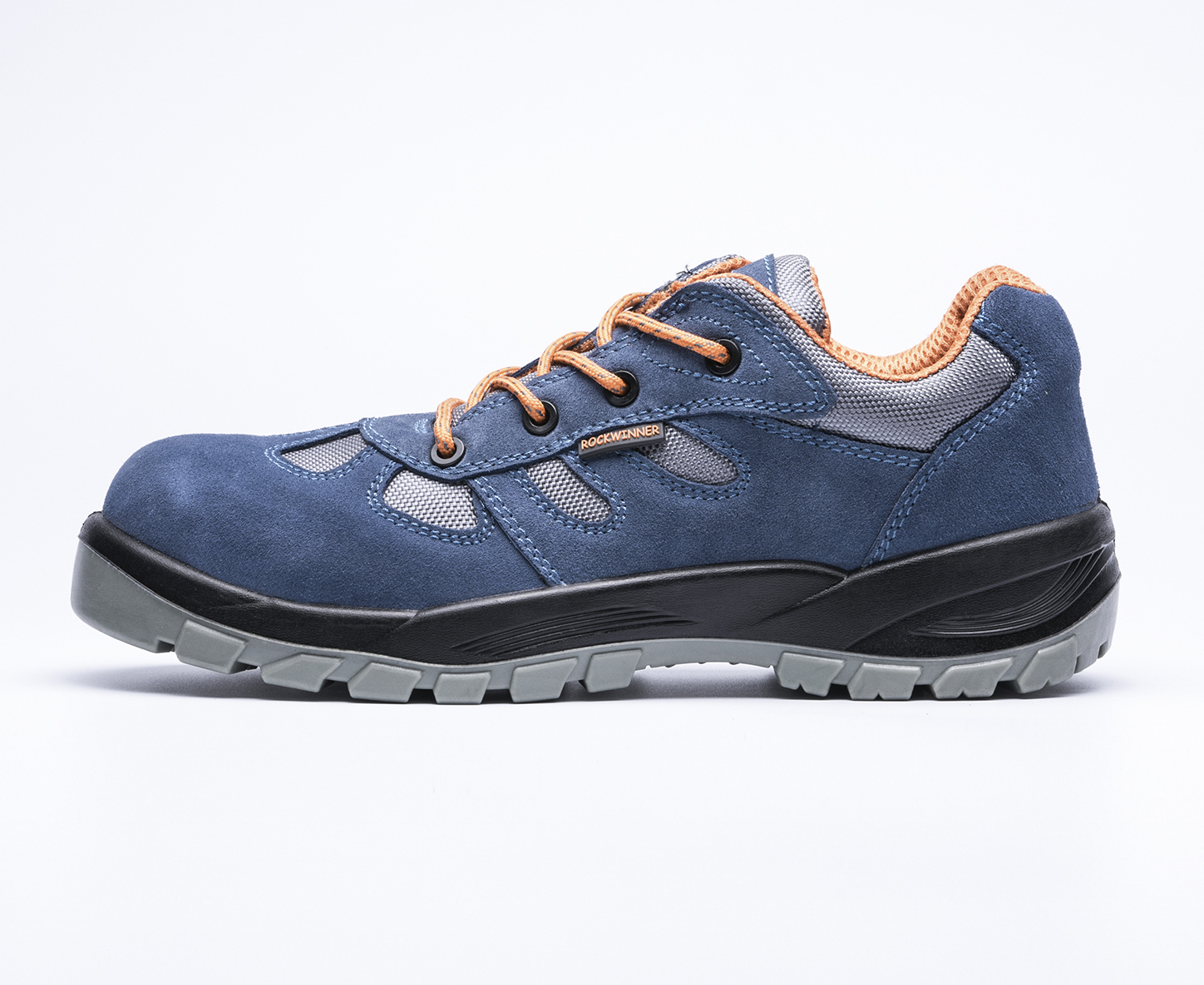 safety work shoes 6167 suede leather pu outsole