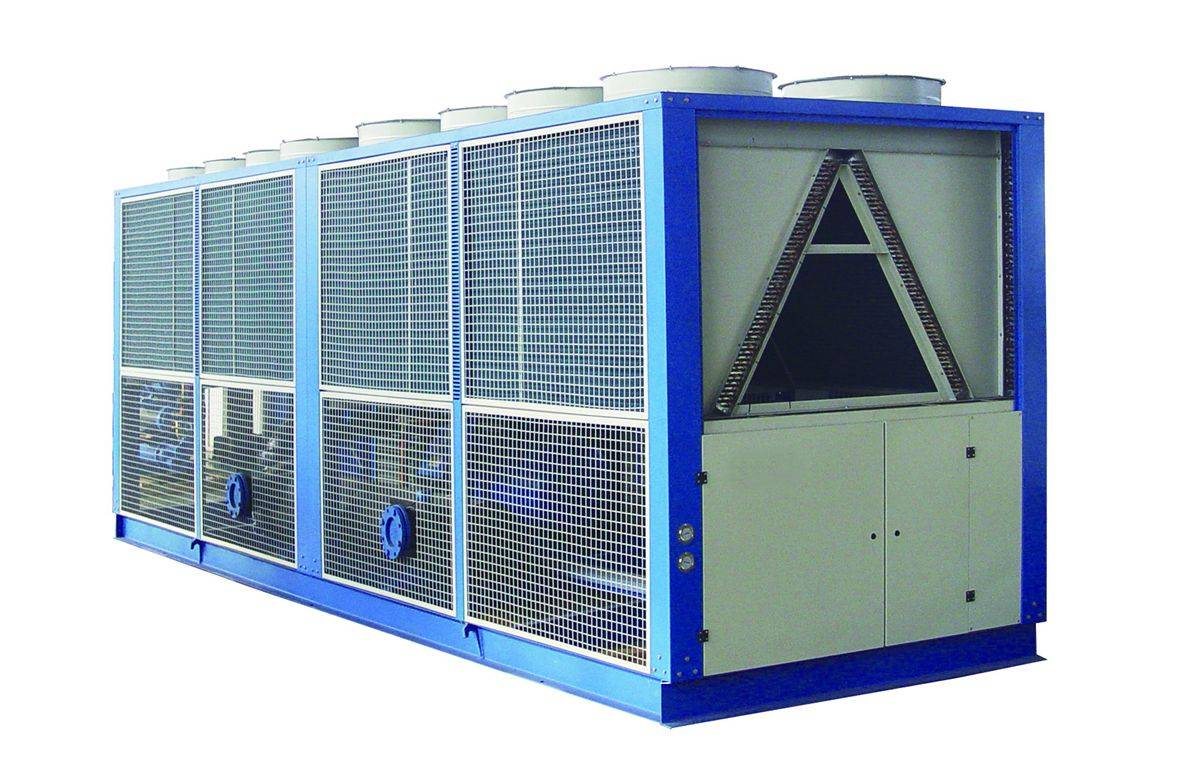 Screw type air cooled chiller
