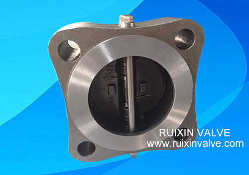 Double Disc Wafer Lug Check Valve Swing API594 Manufacturer
