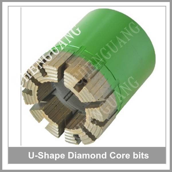 Drilling bit, diamond drilling bits, rock drilling bit