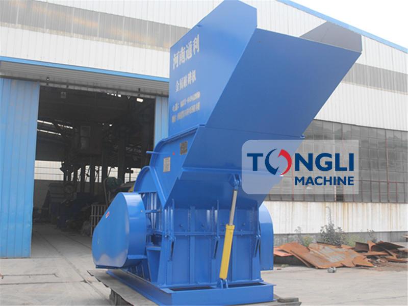 TL BV approved steel scrap crusher machine scrap metal crusher machine