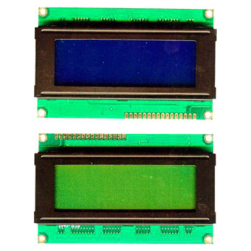 20 x 4 LCD Character Modules