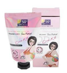 SOC - One Kill Sun Protect DD Cream - Vitamin A + B + C