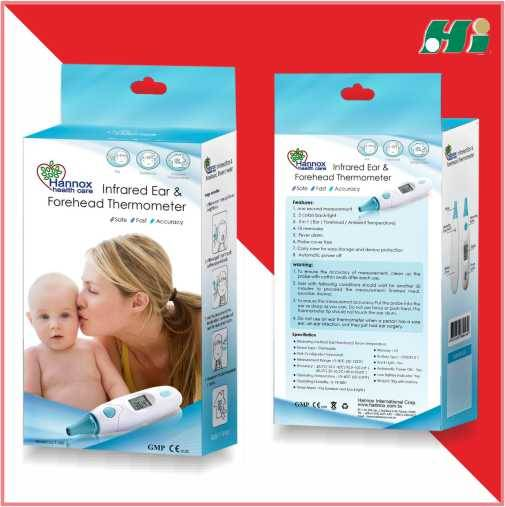 Hannox Infrared Ear and Forehead Thermometer