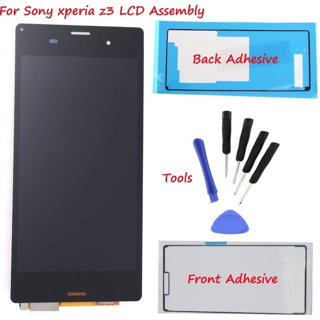 Sony z3 lcd screen replacement lcd for sony z3 D6603 D6653 D