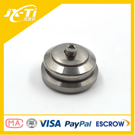 polished surface wholesale titanium bicycle headset bike head parts