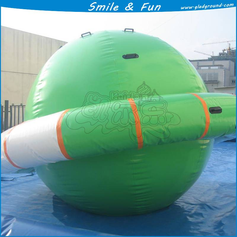 low price amusement park Inflatable UFO ball for water games