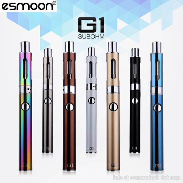 2016 hot electronic cigarette ego sub ohm pen 650mah 30W battery 0.5ohm Esmoon G1 with g1 vaporizer