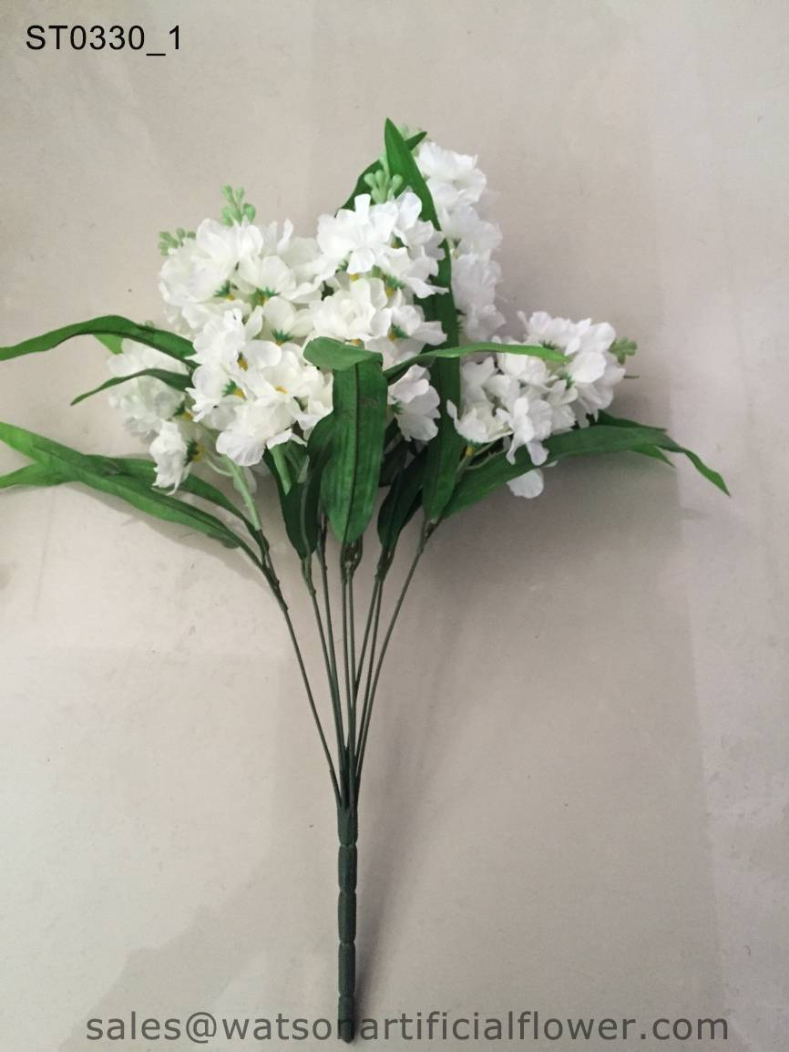 decoration artificial hyacinth flower