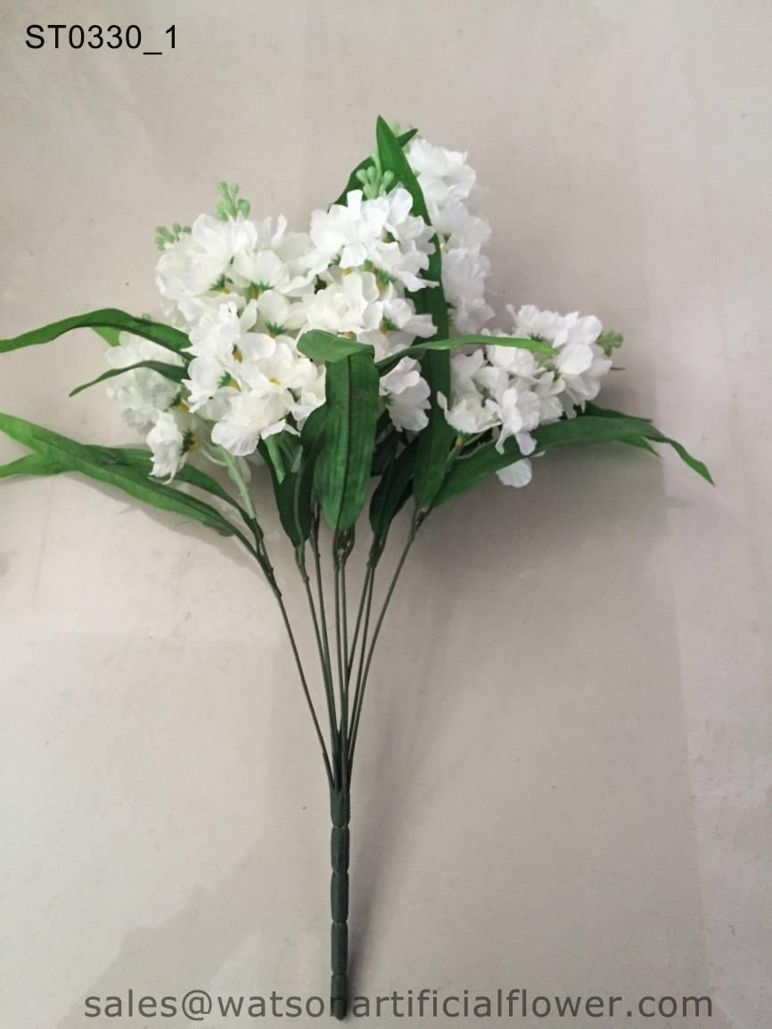 decoration artificial hyacinth flower