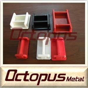 41*41mm PVC material strut channel end cap