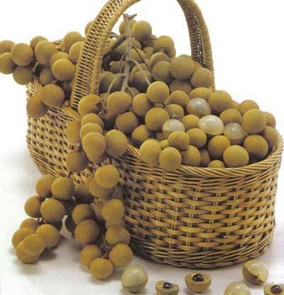 Preserve longan with peel