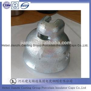 HDG Disc Suspension Insulator Cap for Overhead Power Hardware
