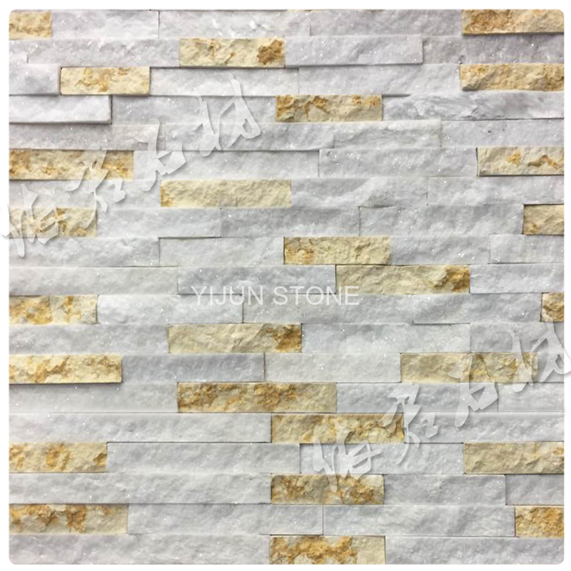 YIJUN STONE/ YJ-C-008 Natural quartz stone/ Cultured stone/ Fireplace stone