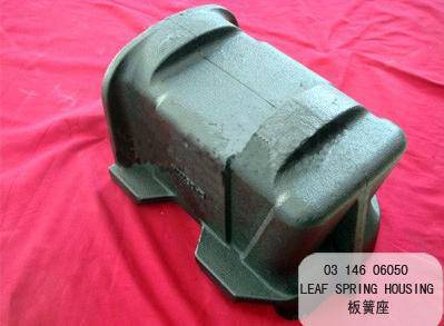 BPW Leaf spring housing & Spring cushion housing