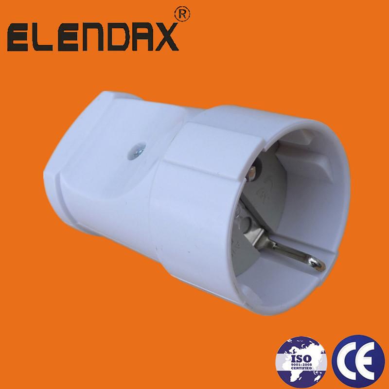 European Schuko 16A rewireable plug and sockets (P8061/62)