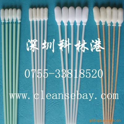 Foam Head Wood handle swab