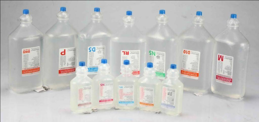 Intravenous Infusion (IV Fluids)