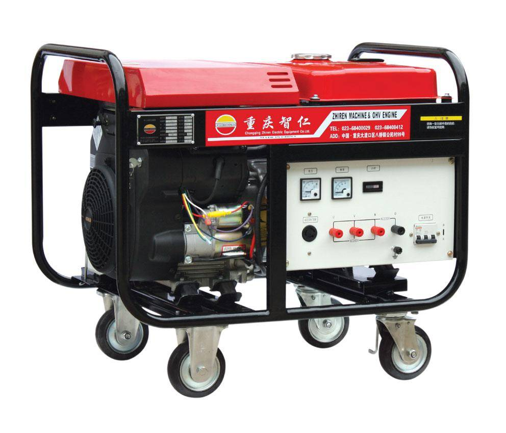 18 KW Three Phase Rare Earth Permanent Magnet Gasoline Generator Set