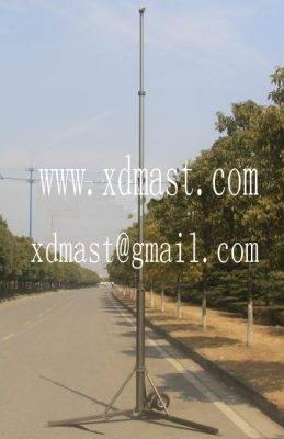 8-10 M Pneumatic Telescopic masts