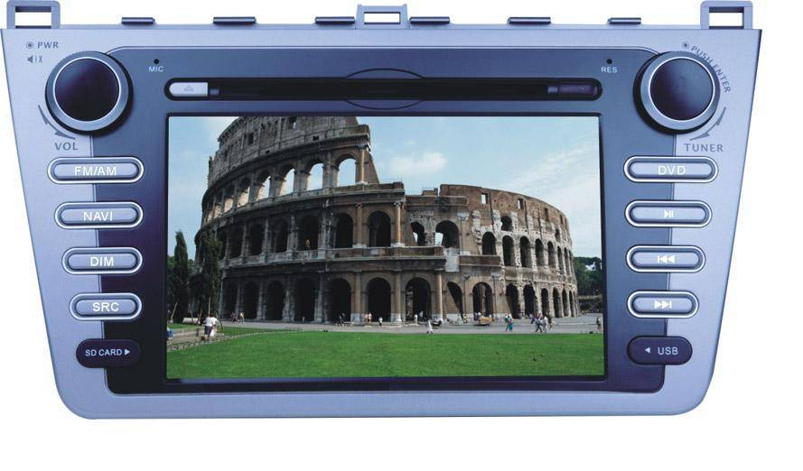 Car GPS DVD Player Mazda-RUIYI (Digital screen)