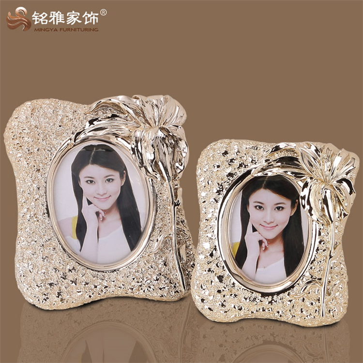Antique handmade resin new style photo picture frames