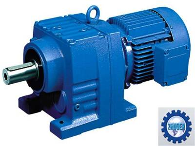 R Series Rigid Tooth Flank Gearbox Speed Reducer Helical Gear Reducer for Industry