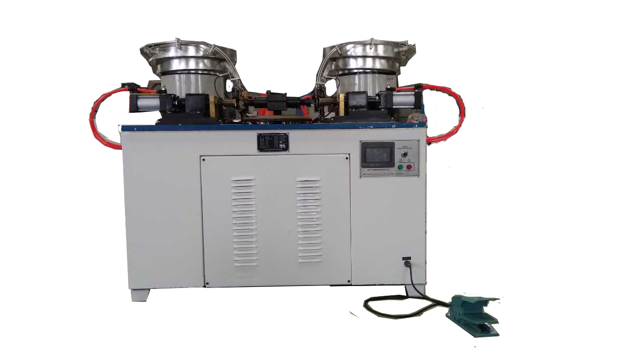 Tin can dual lug spot welding machine