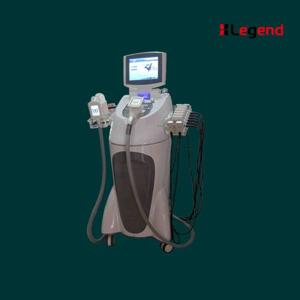 Laser + vacuum + cryotherapy + RF + cavitation+Vacuum Roller  (V9) all in 1 slimming machine F-105