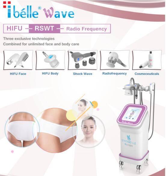 Body Facial HIFU Ultrasound Face Lift Weight Loss HIFU Machine for Salon