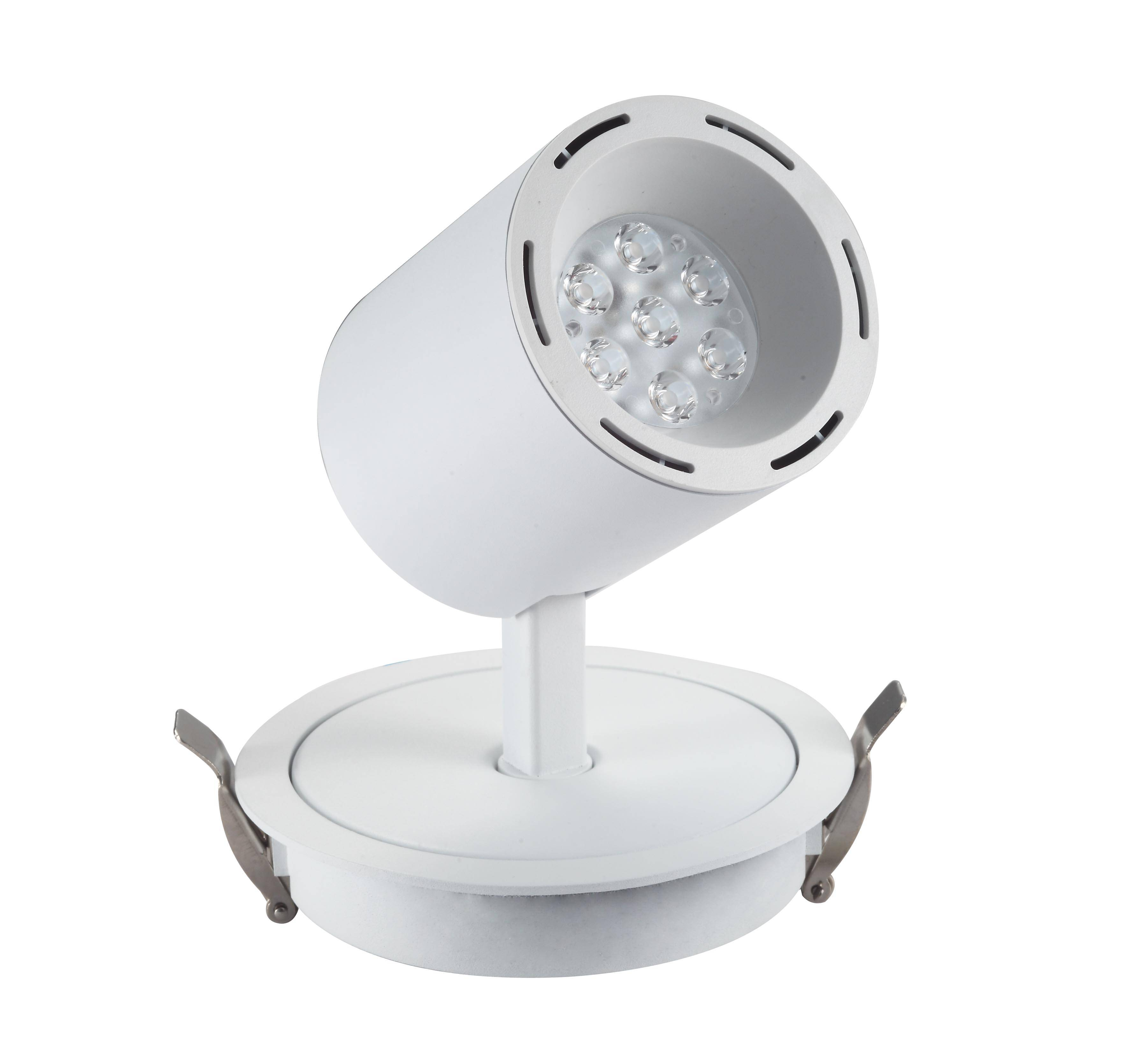 LED recessed downligh 14W with the lens