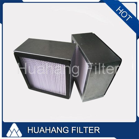 High Efficiency H13 Panel Air Filter Hepa Filter 595x595x395 Manufacturers