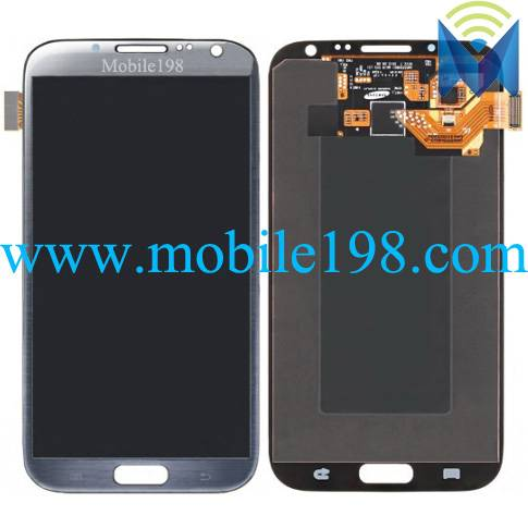 LCD Screen Display with Digitizer for Samsung Galaxy Note Ii Lte N7105 Mobile Phone Parts