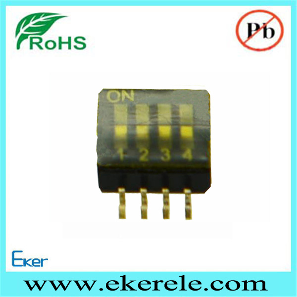 wholesale 1.27mm pitch smt mini micro dip switch