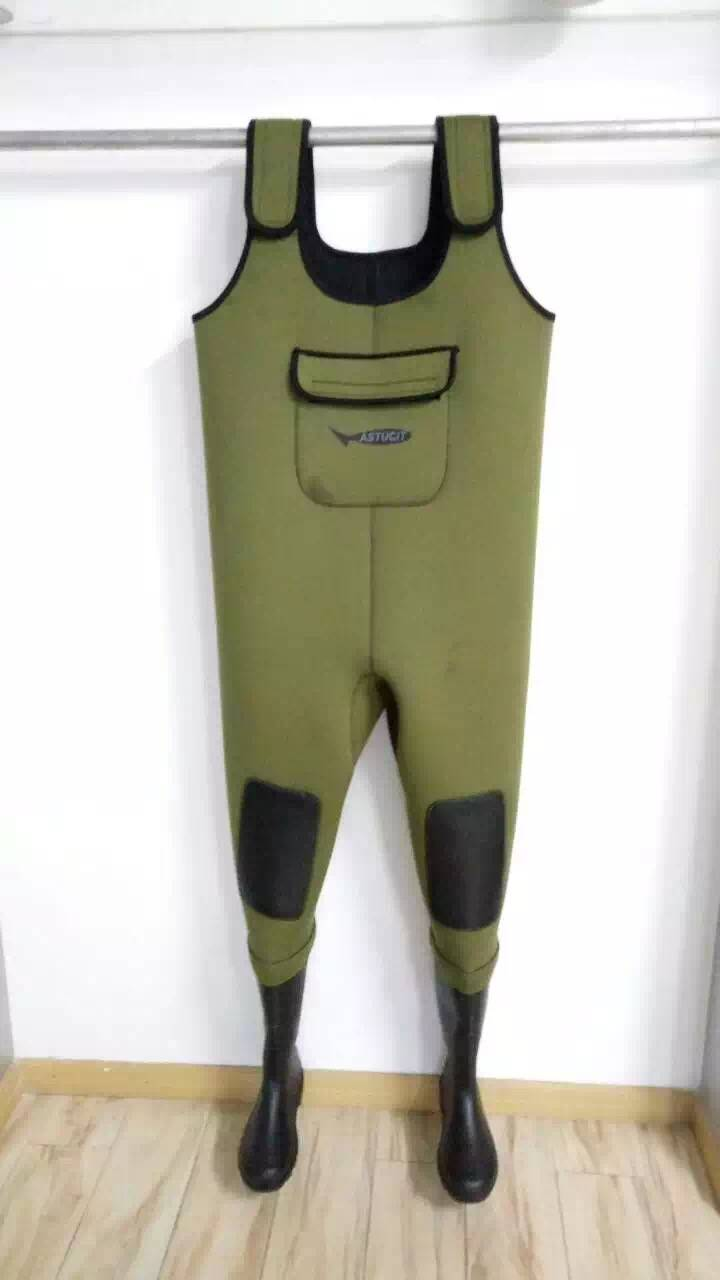 good quality of 4mm 5mm neoprene fishing chest waders