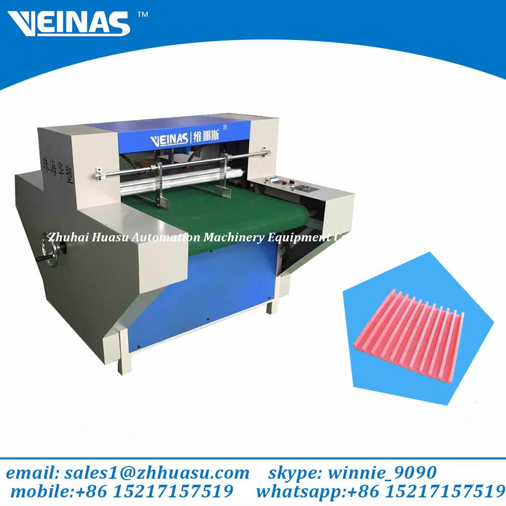 Veinas EPE foam grooving machine
