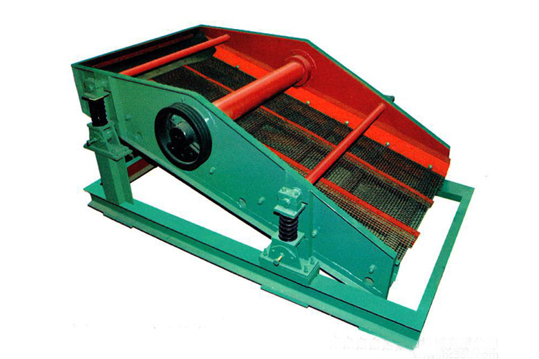 Mine uniaxial vibrating screen