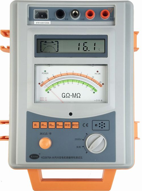 KD2678a/b/c water-cooled power Generator Insulation tester