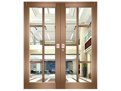 Sale low price interior swing upvc cafe door