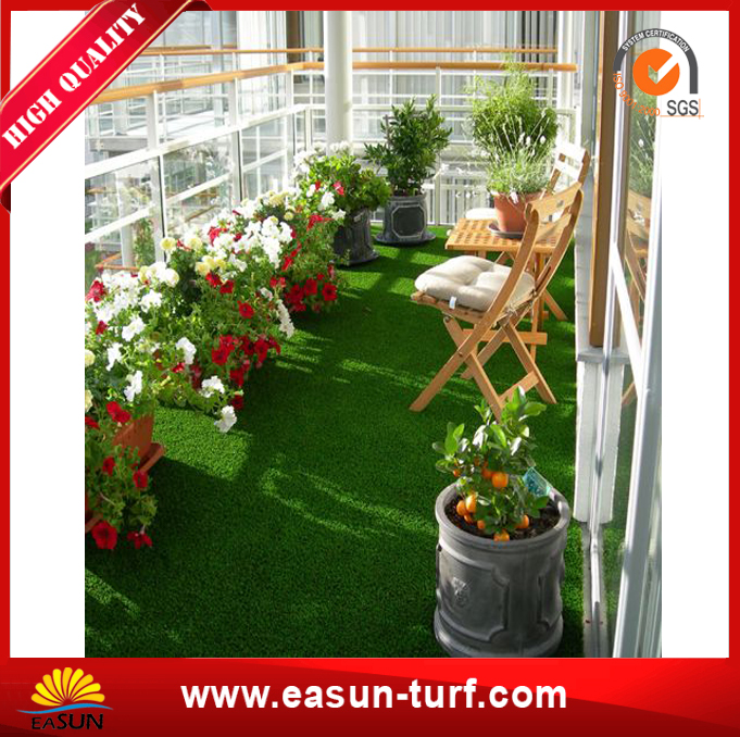 Natural Looking Artificial Grass Turf for Garden Landscaping-MY