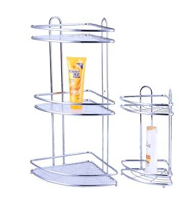 mini corner rack 3 shelves