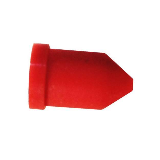 Non return rubber duckbill valve