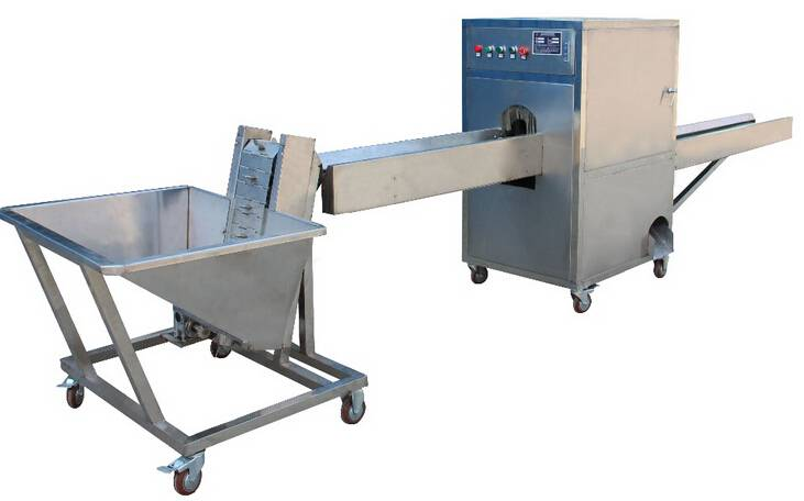 """Simulation hand"" onion peeling and root cutting machine/automatic peeling and cutting onion machine"