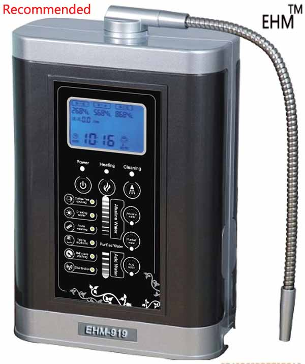 water ionizer(EHM-919)(NEW MODEL) with heating system