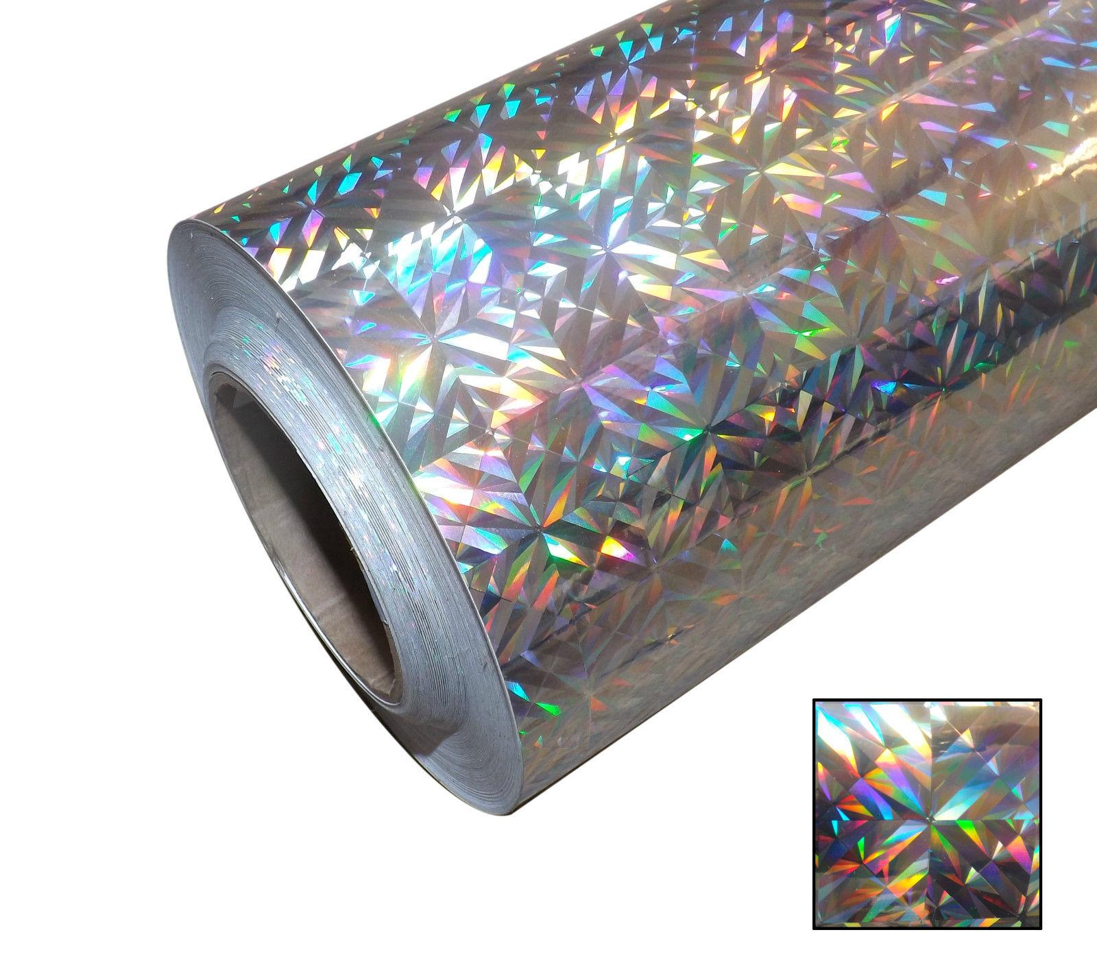Hot Sell High Tenacity Metallic Vinyl Holographic Film