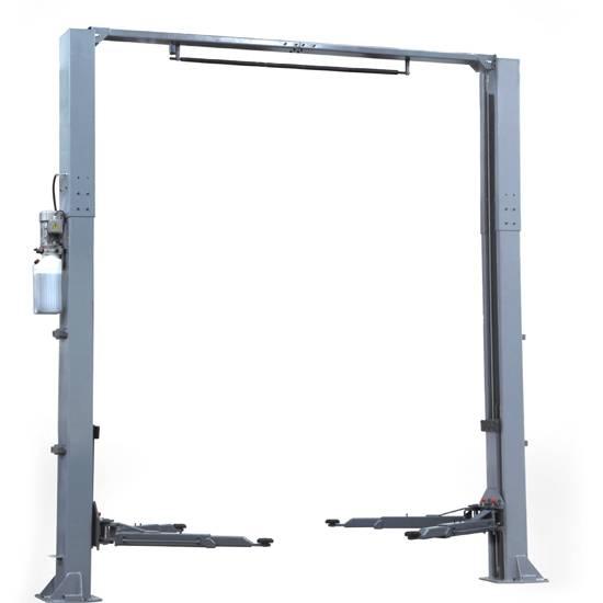 ZT-CF50E Clear Floor Two Post Lift